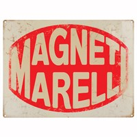 Retro Legends Magneti Metal Sign