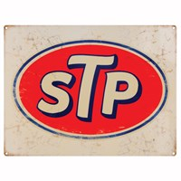 Retro Legends STP Metal Sign