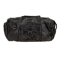 Norton Vintage Leather Duffel Bag