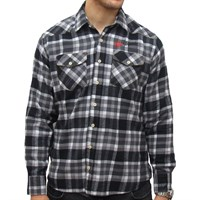 Red Torpedo Guy Martin V-Twin Long Sleeve Shirt - Black