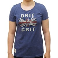 Red Torpedo Guy Martin Ladies Brit Grit T-Shirt