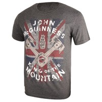 Red Torpedo Mcguinness King Of Mountains Grey T-shirt