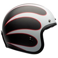 Bell Custom 500 Carbon Ace Ton Up Helmet - Black