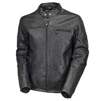 Roland Sands Ronin leather jacket black
