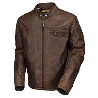 Roland Sands Ronin leather jacket tobacco