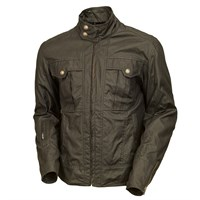 Roland Sands Kent Wax Cotton jacket - olive