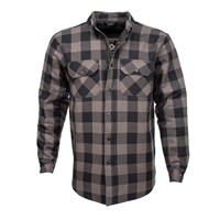 Resurgence Grey Black Check Pekev Shirt