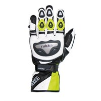 Rukka Argosaurus glove white/yellow