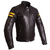 Segura Retro jacket - black/yellow