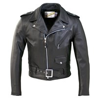 Schott Perfecto 613 Leather Jacket - Black
