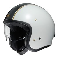Shoei Jo Carburettor TC-6 helmet - Black/White