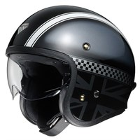 Shoei JO Hawker TC-5 helmet - Grey/Black