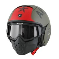 Shark Streetfighter Drak Soyouz helmet matt green