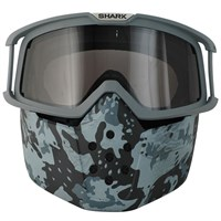 Shark Streetfighter Raw Camo goggles & mask