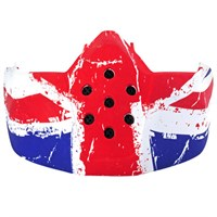 Shark Streetfighter Raw Union Jack mask