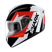 Shark Skwal Sticking helmet - red/black