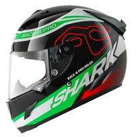 Shark Race-R Pro Miles Helmet - Black/Green