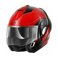 Shark Evoline S3 Drop helmet - red