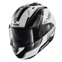 Shark Evo-One Astor helmet - white/black