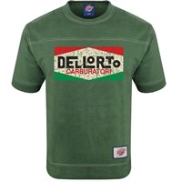 Retro Legends Dellorto Carboratori T-Sweat Green