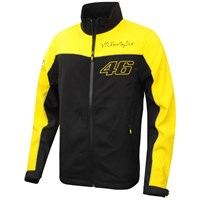 Rossi soft shell jacket - black
