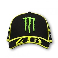 Rossi Vr46 2016 Monster Cap - Black/Yellow