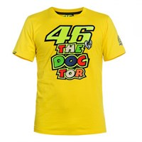 Rossi 2016 The Doctor T-Shirt - Yellow