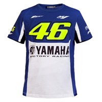 Rossi 2016 Yamaha T-Shirt - Blue/White/Yellow