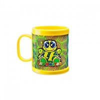 Rossi 2017 46 Kids Mug Yellow Plastic