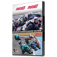 Moto2 and Moto3 Official Review 2015 DVD