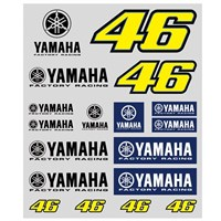 Rossi 2016 Yamaha Sticker Set