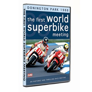 The first World Superbike meeting- Donington 1988