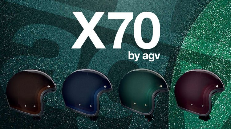 AGV X70 open face helmet