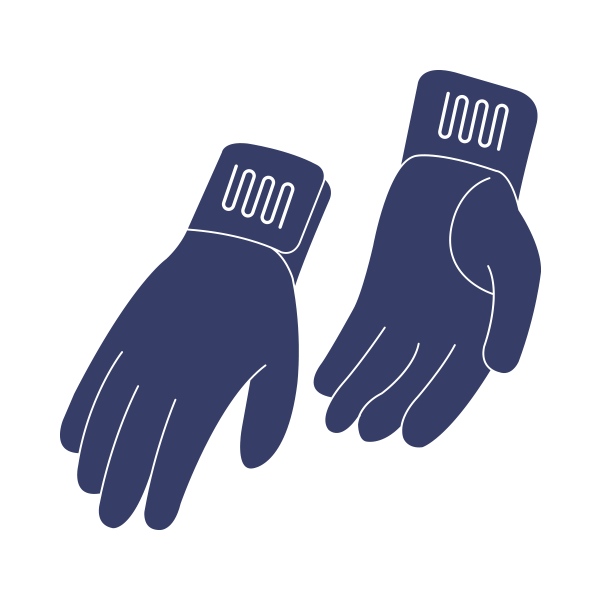 Warm and Safe Gloves