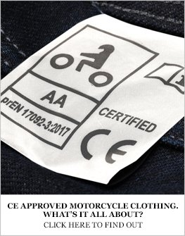 CE approved motorcycle clothing regulations