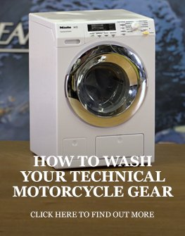 How to wash your technical motorcycle clothing