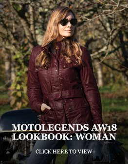 Motolegends AW18 lookbook: Woman