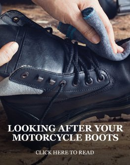 Looking after your motorcycle boots