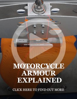 Motorcycle armour explained