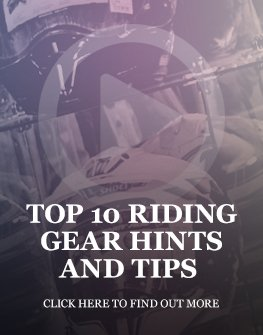 Motorcycle apparel hints and tips