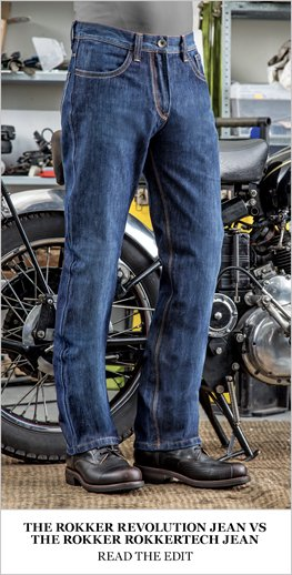 Rokker Revolution pants v Rokker Rokkertech pants review