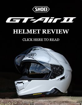 Shoei GT Air 2 helmet review