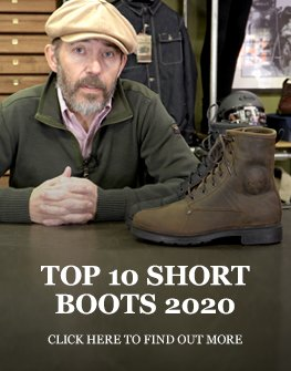 Top 10 short motorcycle boots 2020