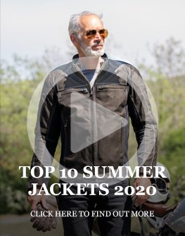 Top 10 summer motorcycle jackets