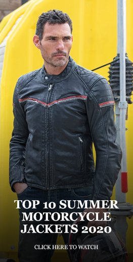 Top 10 summer motorcycle jackets 2020