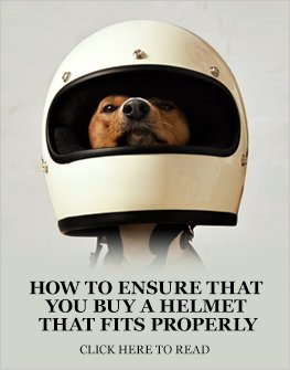 How to ensure that you purchase a motorcycle helmet that fits properly