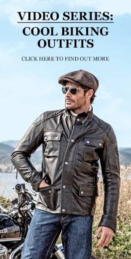 Cool motorcycle outfit video series
