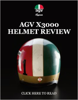 AGV X3000 helmet review