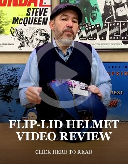 Motorcycle flip-lid helmet review
