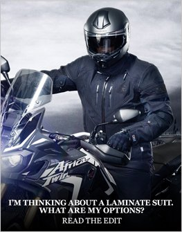 laminate motorcycle suit review